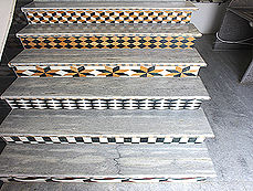 Staircase Flooring Pattern